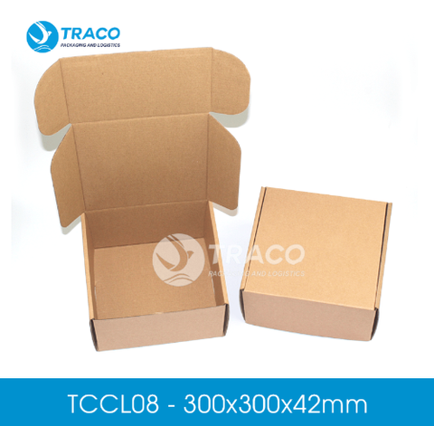 Combo 1000 hộp carton TRACOBOX TCCL08 - 300x300x42 mm