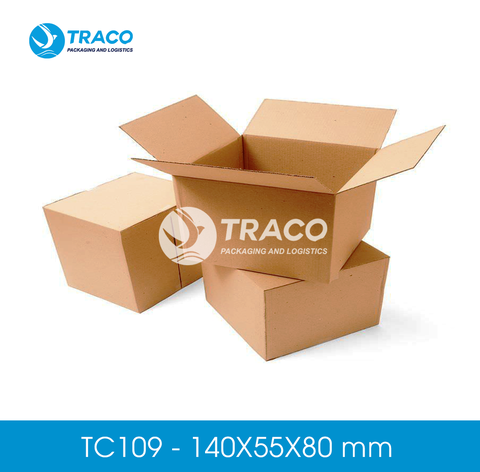 Combo 2000 Hộp carton TRACOBOX TC109 - 140X55X80 mm