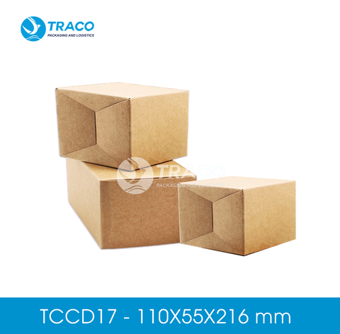 Combo 1000 Hộp carton TRACOBOX TCCD17 - 110X55X216 mm
