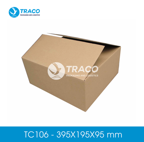 Combo 2000 Hộp carton TRACOBOX TC106 - 395X195X95 mm