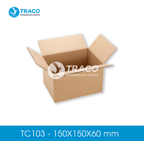 Combo 2000 Hộp carton TRACOBOX TC103 - 150X150X60 mm