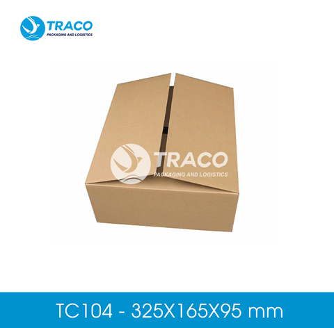Combo 1000 Hộp carton TRACOBOX TC104 - 325X165X95 mm