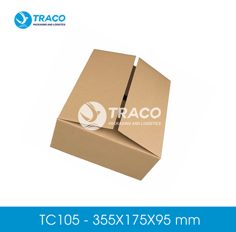 Combo 1000 Hộp carton TRACOBOX TC105 - 355X175X95 mm