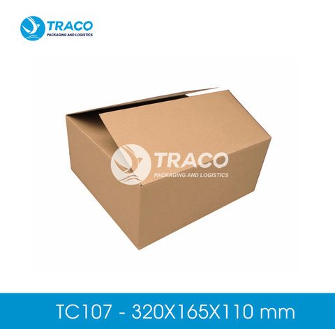 Combo 1000 Hộp carton TRACOBOX TC107 - 320X165X110 mm