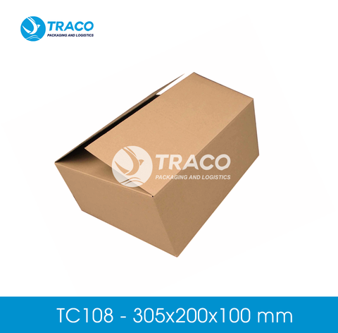 Combo 1000 Hộp carton TRACOBOX TC108 - 305x200x100 mm