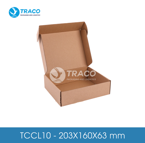 Combo 2000 Hộp carton TRACOBOX TCCL10 - 203X160X63 mm