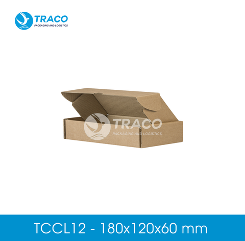 Combo 1000 Hộp carton TRACOBOX TCCL12 - 180x120x60 mm
