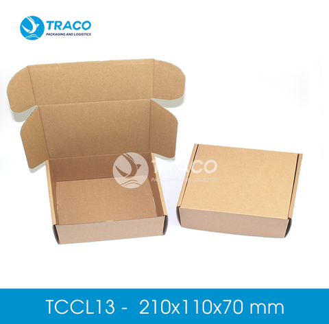 Combo 1000 Hộp carton TRACOBOX TCCL13 - 210x110x70 mm