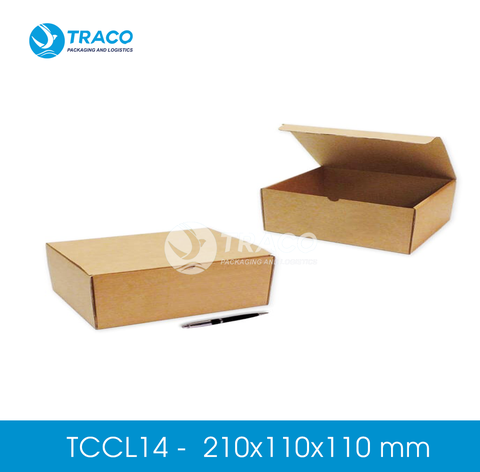 Combo 1000 Hộp carton TRACOBOX TCCL14 - 210x110x110 mm