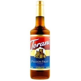 Sirô Chanh leo Torani Passion Fruit – chai 750ml