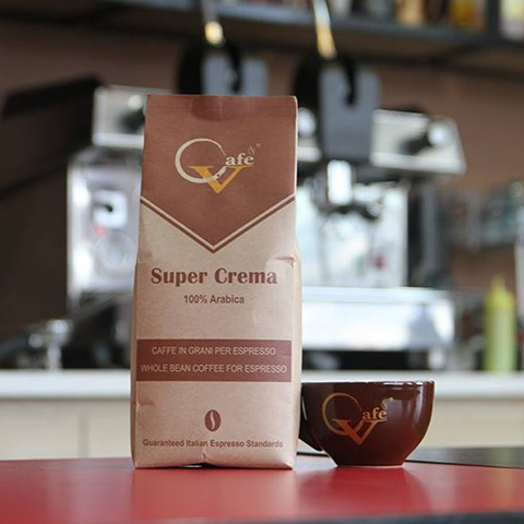 Cafe hạt Super Crema