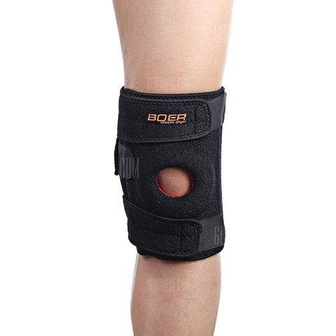 Băng gối dán Boersport Knee Support Stripes