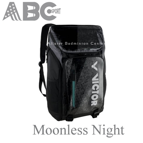 Balo Victor Badminton backpack Moonless Night black pearl