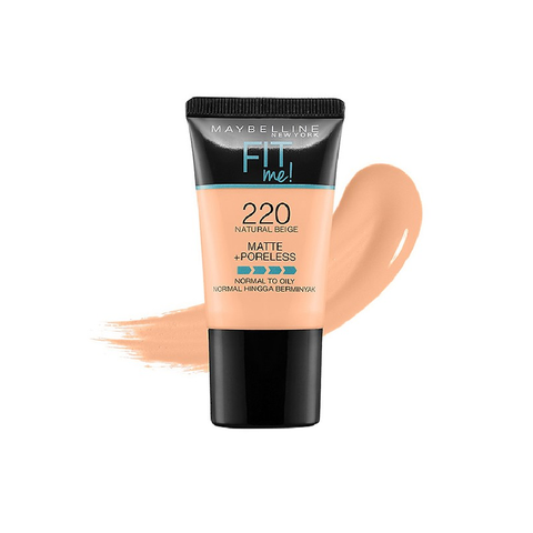 KEM NỀN MAYBELLINE FIT ME MATTE + PORELESS FOUNDATION DẠNG TUÝP