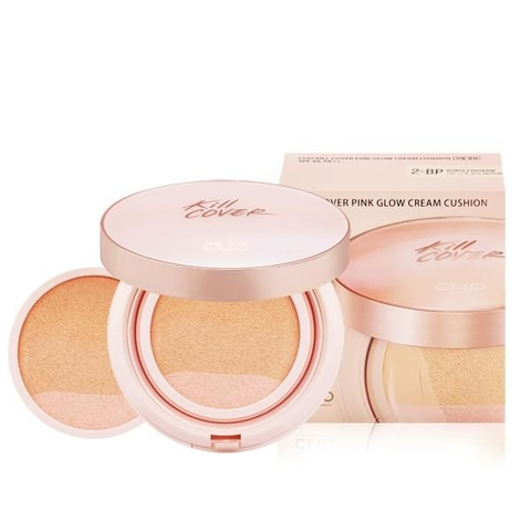 PHẤN NƯỚC CLIO Kill COVER PINK GLOW CREAM CUSHION