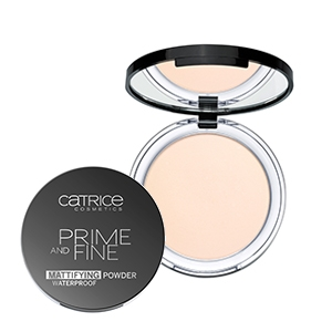 PHẤN PHỦ NÉN CATRICE PRIME AND FINE WTERPROOF MATTIFYING POWDER