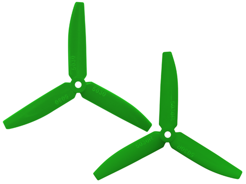 3 Leaf 5030 Propeller (CW/CCW) (Green)