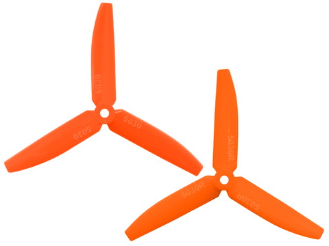 3 Leaf 5030 Propeller (CW/CCW) (Orange)