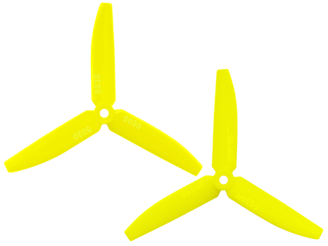 3 Leaf 5030 Propeller (CW/CCW) (Yellow)