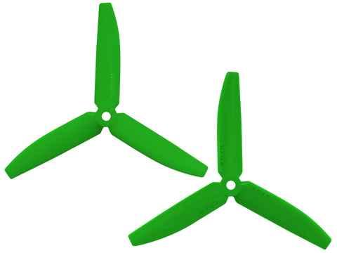 3 Leaf 5040 Propeller (CW/CCW) (Green)