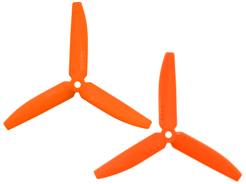 3 Leaf 5040 Propeller (CW/CCW) (Orange)