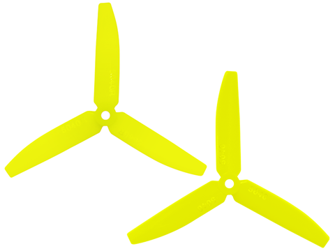 3 Leaf 5040 Propeller (CW/CCW) (Yellow)