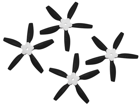 4045 5 Blades Folding Propeller (2CW+2CCW) (Black)