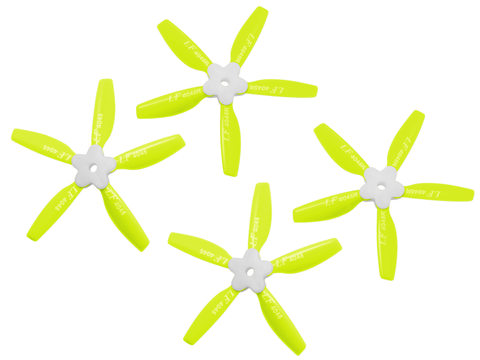 4045 5 Blades Folding Propeller (2CW+2CCW) (Yellow)