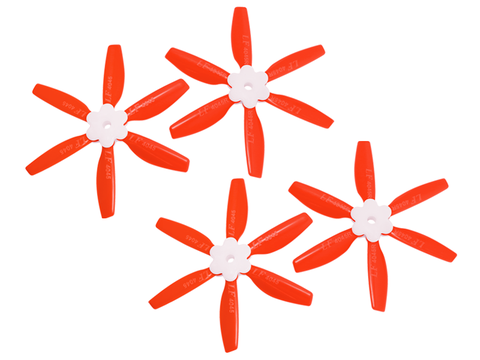 4045 6 Blades Folding Propeller (2CW+2CCW) (Red)