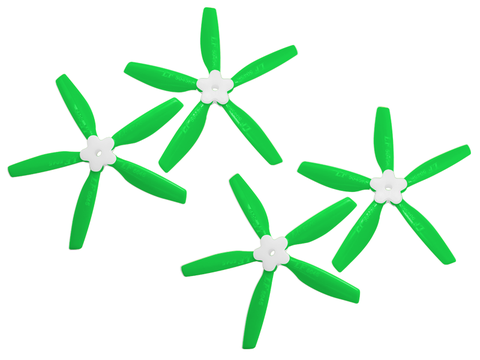 5045 5 Blades Folding Propeller (2CW+2CCW) (Green)
