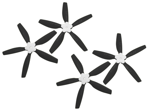 5045 5 Blades Folding Propeller (2CW+2CCW) (Black)