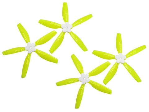5045 5 Blades Folding Propeller (2CW+2CCW) (Yellow)