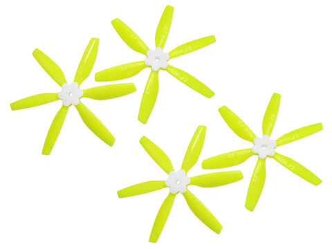 5045 6 Blades Folding Propeller (2CW+2CCW) (Yellow)