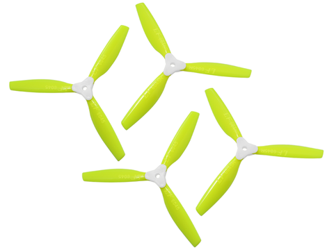 6045 3 Blades Folding Propeller (2CW+2CCW) (Yellow)