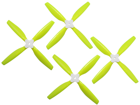 6045 4 Blades Folding Propeller (2CW+2CCW) (Yellow)