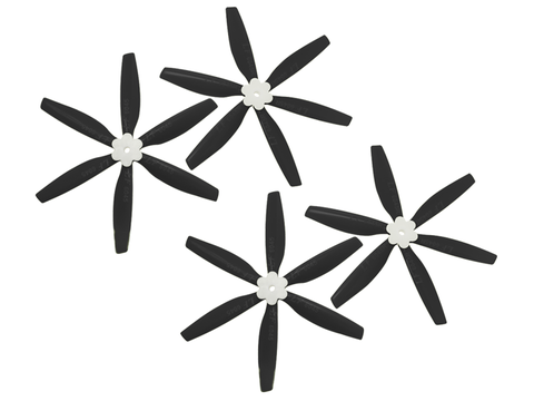6045 6 Blades Folding Propeller (2CW+2CCW) (Black)