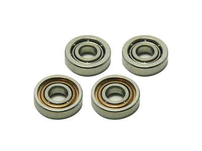 Chrome Steel Bearing (1.5x4x1.12mm)