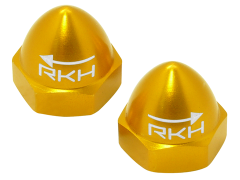 CNC AL M5 Propeller Nut (CW/CCW) (Yellow)