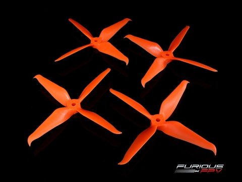 RageProp 5042-4 Race Edition Propeller (2CW - 2CCW) - Orange