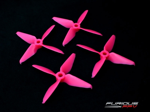 RageProp 3054-4 Race Edition Propeller (2CW - 2CCW) - Pink
