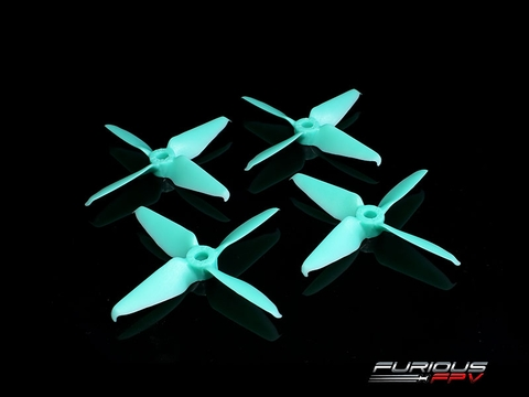 RageProp 3054-4 Race Edition Propeller (2CW - 2CCW) - Turquoise