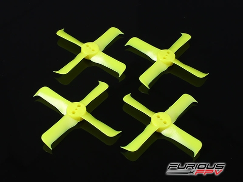 FleekProp 1936-4 Propellers (2CW - 2CCW) - Yellow