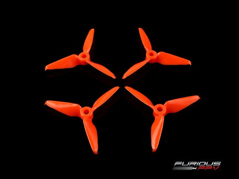 RageProp 3055-3 Propellers (2CW - 2CCW) - Orange