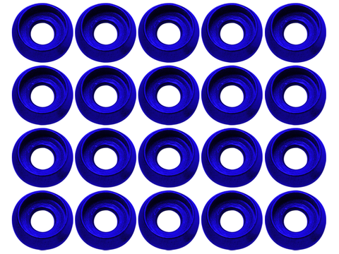 M3 C Washer (20pcs) (Blue)