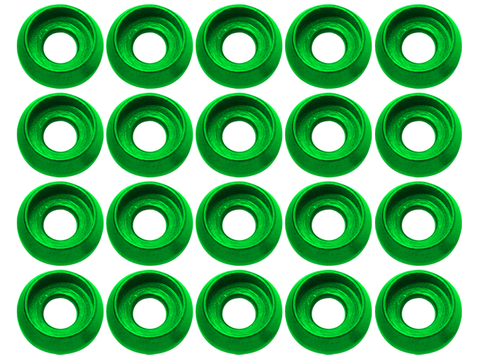 M3 C Washer (20pcs) (Green)