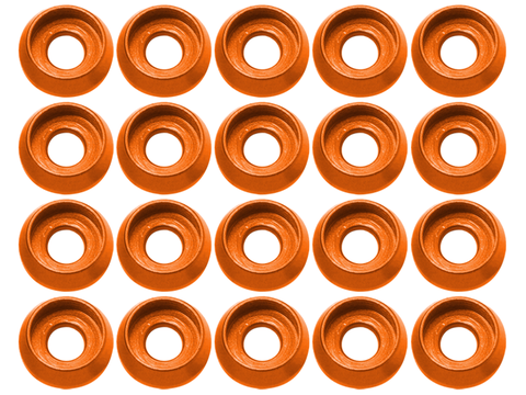 M3 C Washer (20pcs) (Orange)