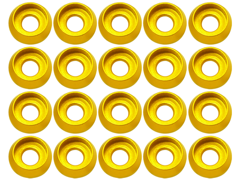 M3 C Washer (20pcs) (Gold)