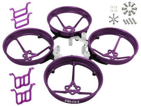 Rakonheli 1S, 2S AL Carbon 76mm Brushless Whoop Kit (for 0603, 0703, 1103 Motor) (Purple)