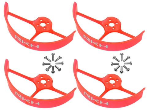 Rakonheli 2 Inch Propeller Guard (4) (Orange)