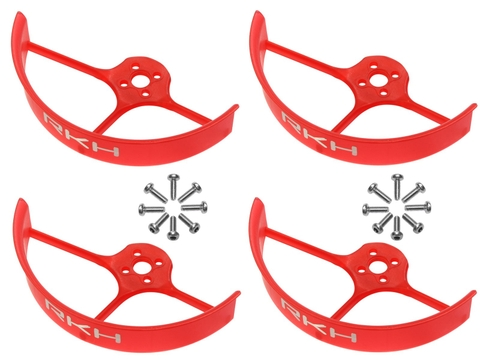 Rakonheli 2 Inch Propeller Guard (4) (Red)